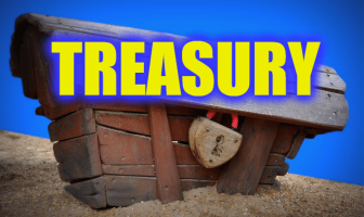 "Use Treasury in a Sentence - How to use ""Treasury"" in a sentence"
