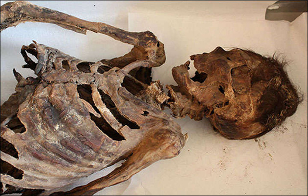 1,100-Year-Old Mummified Remains Found with Fantastic Footwear