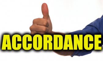 "Use Accordance in a Sentence - How to use ""Accordance"" in a sentence"