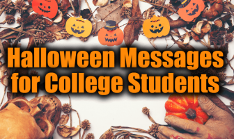 Halloween Messages for College Students