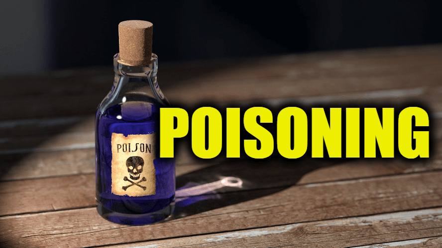 """Use Poisoning in a Sentence - How to use """"Poisoning"""" in a sentence"""