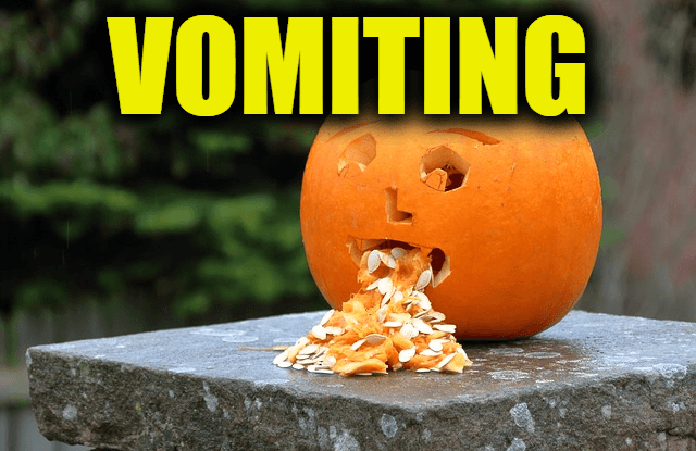 """Use Vomiting in a Sentence - How to use """"Vomiting"""" in a sentence"""