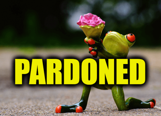 "Use Pardoned in a Sentence – How to use ""Pardoned"" in a sentence"