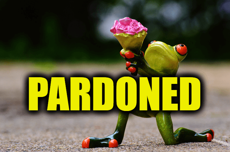 """Use Pardoned in a Sentence - How to use """"Pardoned"""" in a sentence"""