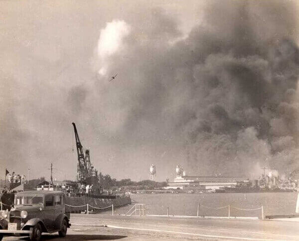 Pearl Harbour Day Bombing