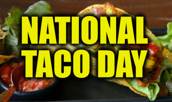 What is National Taco Day and Activities (October 4)