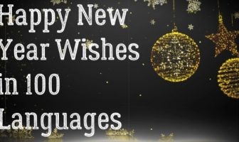 Happy New Year Wishes in 100 Languages, Greetings, Sayings