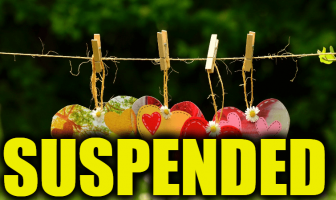 "Use Suspended in a Sentence - How to use ""Suspended"" in a sentence"