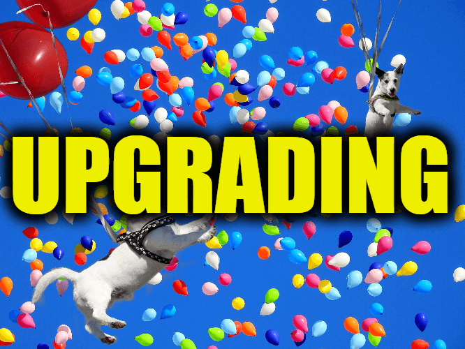 """Use Upgrading in a Sentence - How to use """"Upgrading"""" in a sentence"""