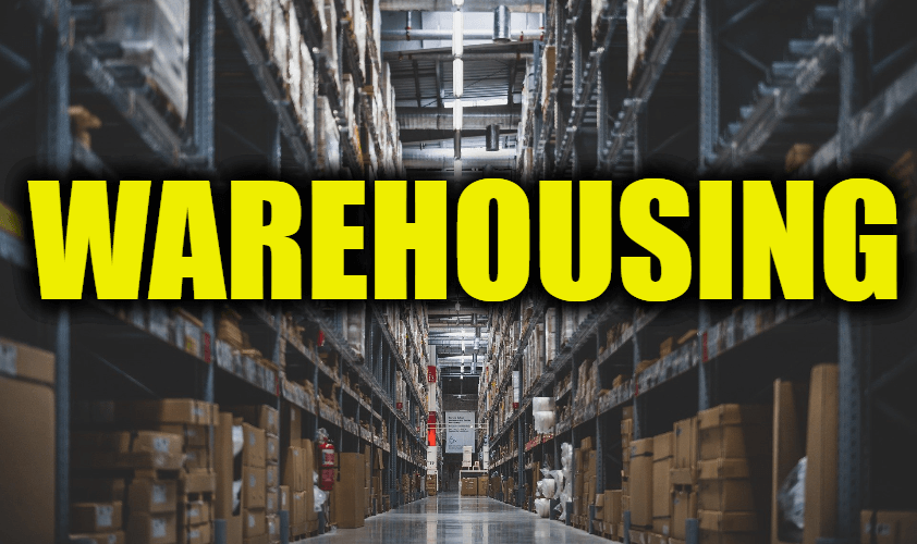 "Use Warehousing in a Sentence - How to use ""Warehousing"" in a sentence"