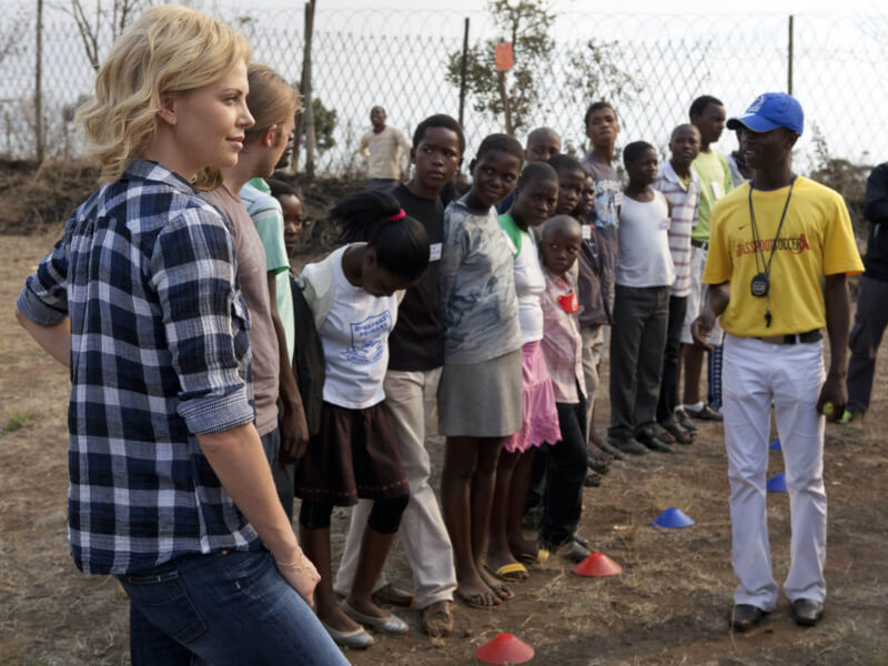 Charlize Theron Helping Young Children In Africa Gives Us So Much Hope