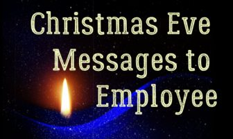 Christmas Eve Messages to Employee