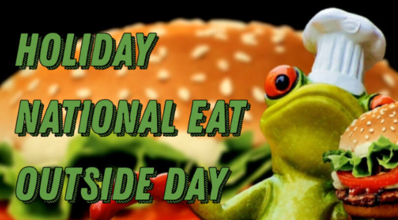Holiday National Eat Outside Day Messages (August 31)