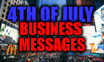 4th of July Business Messages, Greetings Card and Wishes