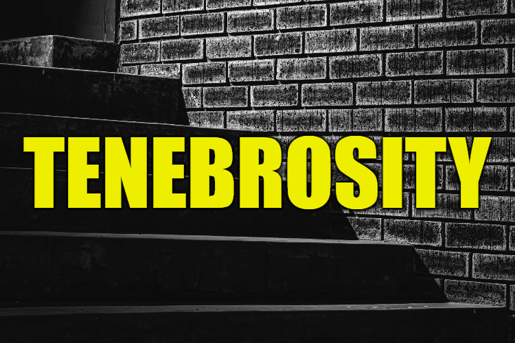 """Use Tenebrosity in a Sentence - How to use """"Tenebrosity"""" in a sentence"""