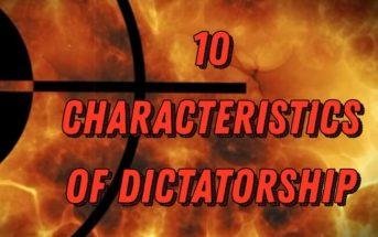 10 Characteristics Of Dictatorship – What is a Dictatorship
