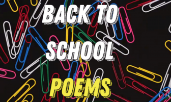 Back to School Poems | Best First Day of School Poems