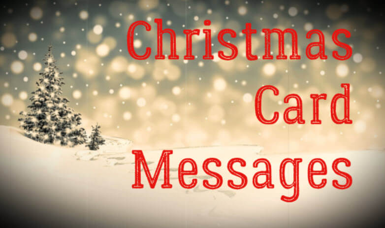 Christmas Card Messages | Holiday Card Sayings & Wishes