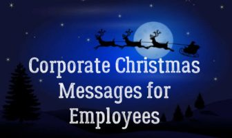 Corporate Christmas Messages for Employees