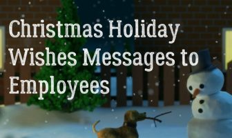 Christmas Holiday Wishes Messages to Employees