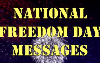 National Freedom Day Messages (United States of America on 1 February)