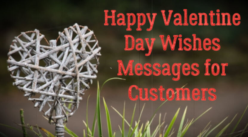 Happy Valentine Day Wishes Messages for Customers