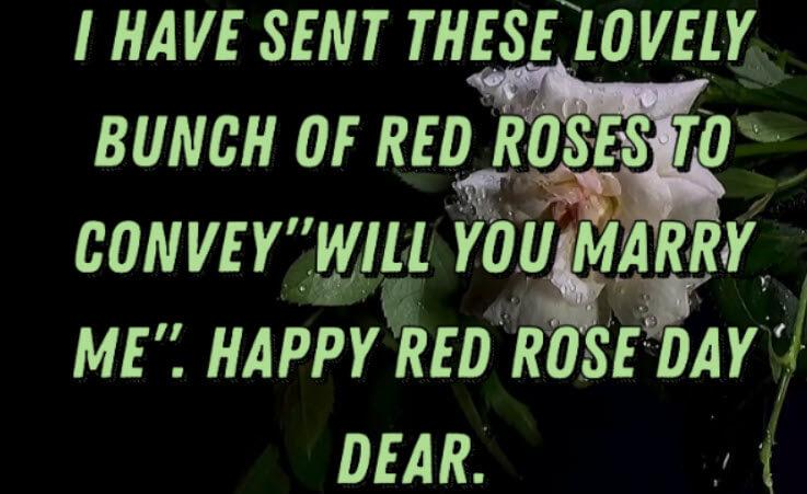 Romantic Rose Day Wishes for Boyfriend & Girlfriend