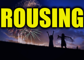 "Use Rousing in a Sentence – How to use ""Rousing"" in a sentence"