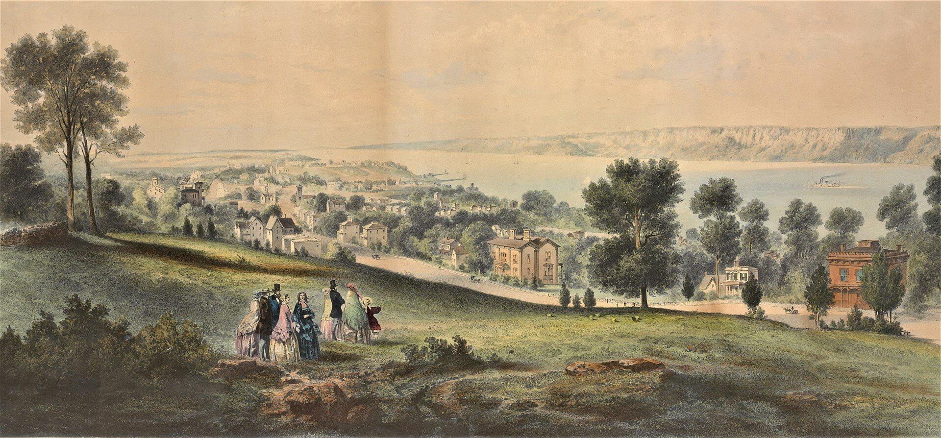 Yonkers, New York, c.1860s