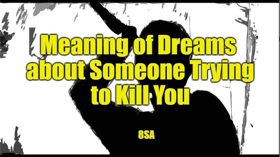 someone killing in a dream