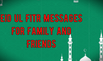 Eid ul Fitr Messages for Family and Friends | Eid Mubarak Wishes